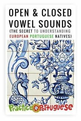 Open & Closed Vowels in European Portuguese (Cover)
