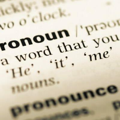 Intro to Demonstrative Pronouns