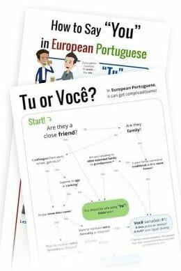 Tu vs. Você in European Portuguese (Cover)