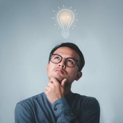 think idea