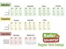 Regular Verb Endings (Cover)